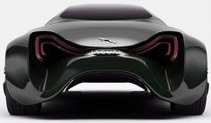 Jaguar XKX concept car