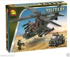 Oxford OM 33010 Apache Helicopter Building Brick Blocks New Factory SEALED | eBay