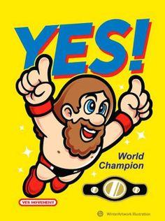 Daniel Bryan Yes Nintendo Super Mario Brothers 3 Meme