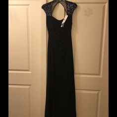 Lauren Ralph Lauren Sequin Evening Dress Brand new and never worn.  Tags are still attached and comes with the hanger and Nordstrom garment bag.  Lovely dress with stretch material for comfort and flattering cut. Ralph Lauren Dresses Strapless