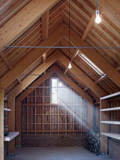 Image 6 of 19 from gallery of Long Sutton Studio / Cassion Castle Architects. Courtesy of Cassion Castle Architects Timber Architecture, Timber Buildings, Residential Architecture, Architecture Design, Wooden Workshops, Backyard Studio, Beautiful Buildings, House In The Woods, Garden Cottage