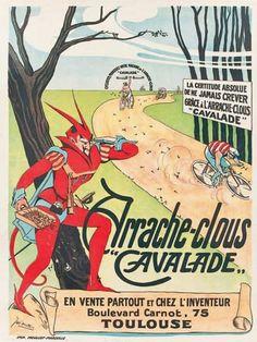 """Arrache-clous """"Cavalade"""" circus poster"""