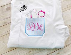 Nurse Pocket, Stethescope, Graduation Gift,Monogrammed, Embroidered Pocket T-Shirt, Wome's Plus Size