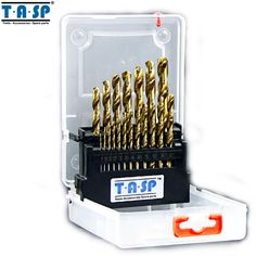 >>>Smart Deals forTASP 19PC Titanium HSS Twist Drill Bit Set 1.0 ~ 10mm Round Shank for Metal Power Tool AccessoriesTASP 19PC Titanium HSS Twist Drill Bit Set 1.0 ~ 10mm Round Shank for Metal Power Tool AccessoriesIt is a quality product...Cleck Hot Deals >>> http://id160492785.cloudns.ditchyourip.com/32679392492.html images