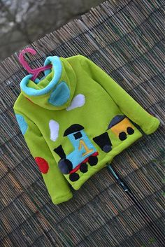 Mikinka s vláčikom... by Beatrice-Bibi - SAShE.sk - Handmade Detské oblečenie