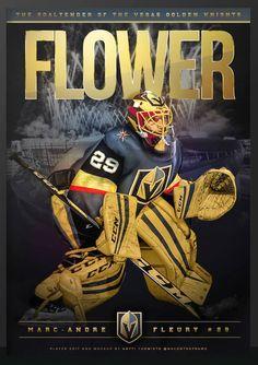 Flower Las Vegas Golden Knights