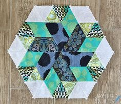 Sweet Tooth Block 7 - Salt Water Taffy | Jaybird Quilts