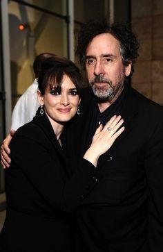 Winona Ryder & Tim Burton