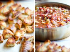 Tomato, Chickpea, and Bread Soup from @Winnie Abramson