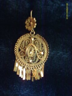 Delicate filigree scrollwork chandelier earrings handmade by delicate filigree scrollwork chandelier earrings handmade by mexican artisans sombrerogold mozeypictures Images