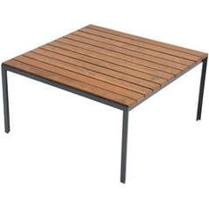 Florence Knoll Redwood Indoor Outdoor Side Table
