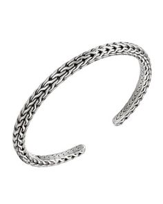 Classic Chain Silver Bangle by John Hardy at Neiman Marcus.