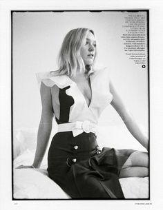 Chloë Sevigny by Tyrone Lebon for Vogue UK, May 2015