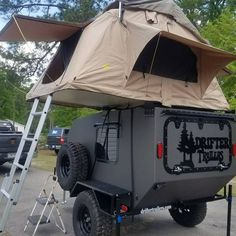 Our off road camper is the best way to really get out and explore. Drifter Trailers offroad campers are at home on road and off. Off Road Trailer, Off Road Camper, Lightweight Travel Trailers, Teardrop Camper Trailer, Truck Tent, Overland Trailer, Camp Trailers, Motorcycle Trailer, Ford Raptor