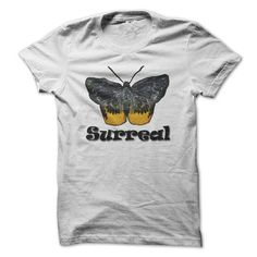 camping surreal butterfly T Shirts, Hoodies, Sweatshirts. CHECK PRICE ==► https://www.sunfrog.com/Camping/surreal-butterfly.html?41382
