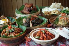 Indonesian Cuisine Paradise at Feast @ East Buffet Indonesian Cuisine, Food Stations, Recipe Today, Food Menu, Good Food, Meat, Chicken, Ethnic Recipes, Healthy