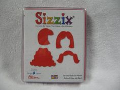 Time to work on those photo memory books! This Sizzix girls hair is a good addition! Sizzix Doll Girl Hair #1 38-0101 Sizzix