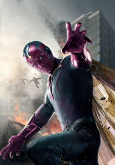 Vision Avengers AOU textless poster Captain America: Civil War Rumors: Cosmic Connections & Team Loyalty