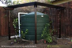 Interested in harvesting your own rainwater! You can use tanks, greywater, and earthworks in the soil to harvest as much water as possible! #rainwaterharvesting #rainwatertanks #raintanks