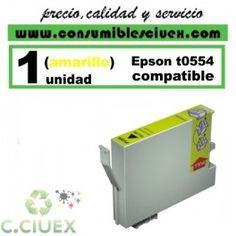 CARTUCHO COMPATIBLE EPSON T0554