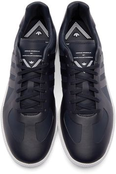 official photos a04a7 36d13 adidas x White Mountaineering - Navy Mountaineering BW Trainers  Bjergvandring, Navy, Adidas, Sko