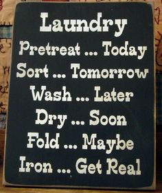 laundry wooden signs | Laundry Schedule primitive wood sign FUNNY by pattisprimitives