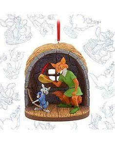 [''Oo de lally!''] Art of Disney Animation limited release Sketchbook ornaments. Feb. 2016, Skippy Rabbit & Robin Hood