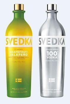 Svedka Grapefruit Jalapeno, Svedka 100 Proof