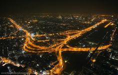 BANGKOK. View from Baiyoke Suite Hotel - http://architecturalphotographer.com.ua