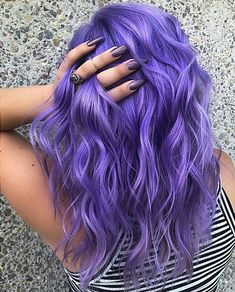Hair, hair color shades, lilac hair, hair color purple, hair co Lavender Hair Colors, Cute Hair Colors, Hair Dye Colors, Cool Hair Color, Lavender Hair Tips, Darker Hair Color Ideas, Amazing Hair Color, Unique Hair Color, Hair Goals Color