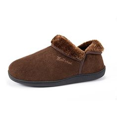 HomyWolf Unisex Cotton House Slippers, Warm Soft Slipper for Indoor/Outdoor, Deep Brown,(For Women) B(M) US Slippers For Plantar Fasciitis, Slippers With Arch Support, Cotton House, Soft Slippers, Womens Slippers, Comfortable Shoes, Indoor Outdoor, Men's Shoes, Warm
