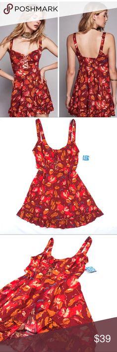 "Free People dress sz M medium nwt FP dress. Sz M. NWT. Chest flat across 18"" length 32.5"" Free People Dresses"