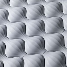 """""""Lantern"""" Concrete Tile from the Kaza Collection in Moon Garden Matte - Available at World Mosaic Tile in Vancouver"""