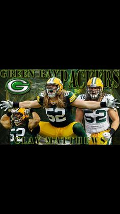 Love Clay!! Green Bay Packers Pictures 4d5565e85
