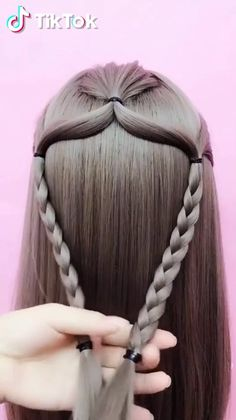 Trending hairstyles ideas for middle school girls. Trending hairstyles ideas for middle school girls. Box Braids Hairstyles, Face Shape Hairstyles, Hairstyle Ideas, Easy School Hairstyles, Hair Plaits, Curly Hair Styles, Natural Hair Styles, Trending Hairstyles, Little Girl Hairstyles