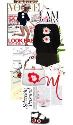 """Look East"" by akchen ❤ liked on Polyvore"