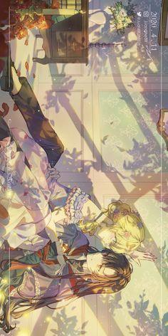 Anime Couples Drawings, Anime Couples Manga, Otaku Anime, Manga Anime, Manga English, Romantic Manga, Friend Anime, Manga News, Anime Princess