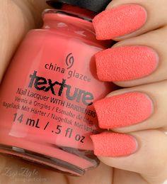 ZigiZtyle: China Glaze Texture - Itty, Bitty & Gritty