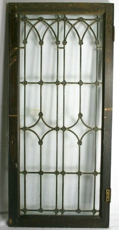 gothic leaded glass door transoms - Google Search