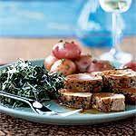 Pork au Poivre Recipe   MyRecipes.com