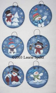 1 million+ Stunning Free Images to Use Anywhere Painted Christmas Ornaments, Christmas Wood, Christmas Snowman, Diy Christmas Gifts, Christmas Projects, Handmade Christmas, Holiday Crafts, Christmas Decorations, Dog Ornaments