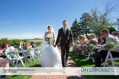 Wedding of Jennifer Fike and Dillon Thurston at The Manor House in Colorado.