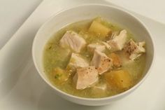 Chicken and Green Chile Stew with Apples