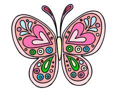 mariposa bonita pintado por Anneliese en Dibujos.net el día 25-10-13 a las 16:01:47. Pinta, colorea, descarga o imprime tu propio dibujo de mariposa bonita totalmente gratis. Tienes muchos de dibujos para escoger, encuentra el que más te gusta!