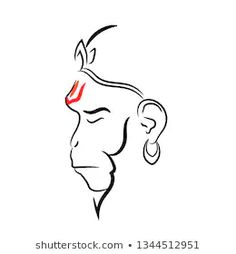 Find Lord Hanuman Vector Design Beautiful Art stock images in HD and millions of other royalty-free stock photos, illustrations and vectors in the Shutterstock collection. Lord Shiva Painting, Ganesha Painting, Ganesha Art, Baby Ganesha, Hanuman Tattoo, Ganesha Tattoo, Hanuman Ji Wallpapers, Hanuman Images Hd, Hanuman Photos