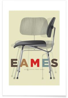 Eames DCM von Visual Philosophy now on JUNIQE!
