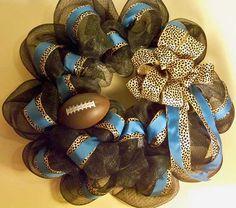 Jacksonville Jaguars football wreath