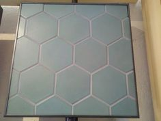 Heath tile KPFA green Heath Tile, House Tiles, Tile Design, Bathroom Inspiration, Backsplash, Kitchen Remodel, Floors, Tile Floor, Kitchen Ideas