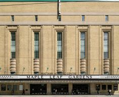 Art Deco ~ Canada | Maple Leaf Gardens, Toronto