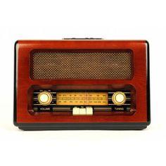 Retro Radio Wood